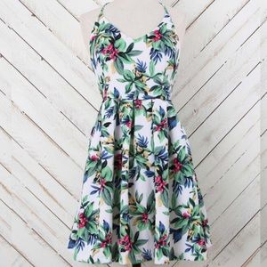 Altar'd State Hawaiian Tropical Floral Dress